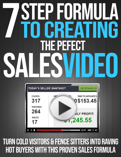 7-Step Formula To Creating The Perfect Sales Video